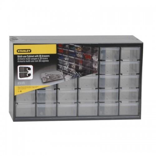 Κουτί αποθήκευσης πολλαπλών χρήσεων με 30 μικρά συρτάρια