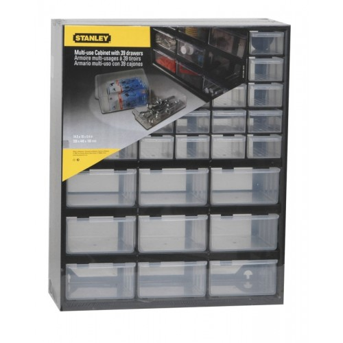 Κουτί αποθήκευσης πολλαπλών χρήσεων με 30 μικρά και 9 μεγάλα συρτάρια