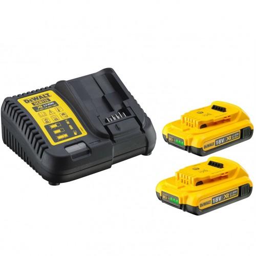 XR Πολυφορτιστής με 2 μπαταρίες 2Χ 2AΗ 18V