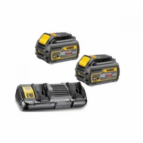 XR Flexvolt Φορτιστής 2 θέσεων με 2 μπαταρίες DCB546 54/18V 6.0/2.0AΗ