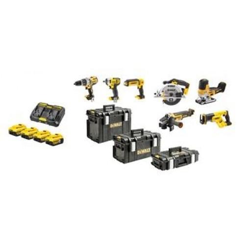 18V XR σετ 8 pcs Brushless DCD996-DCF880-DCS335-DCS570-DCH273-DCS367-DCG405-DCL050