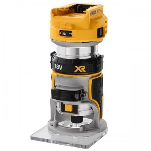 18V XR BL 8mm Ρούτερ compact χωρίς μπαταρία & φορτιστή