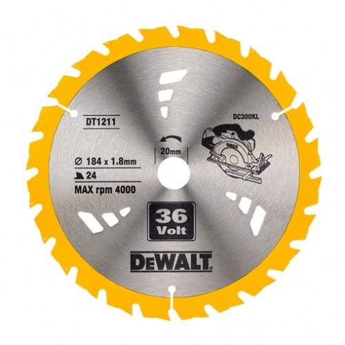 Δίσκος Ξύλου - Construction - 184mmx20x24 Δόντια