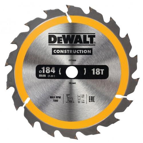 Δίσκος ξύλου - Construction - 184mmx16x18 Δόντια