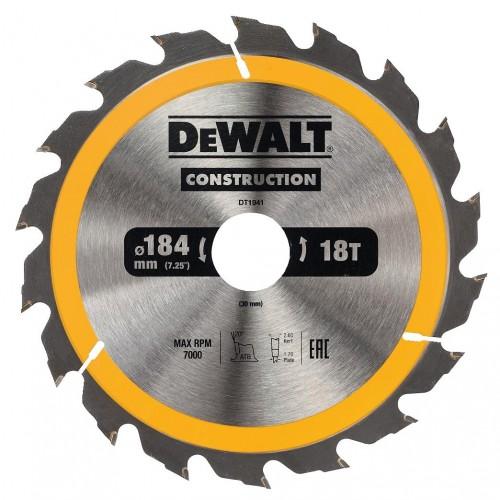 Δίσκος ξύλου - construction - 184mmx16-30x18 - δόντια