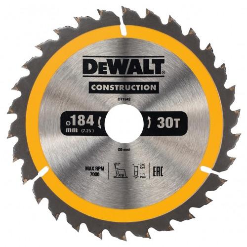 Δίσκος ξύλου - construction - 184mmx30x30 - Δόντια
