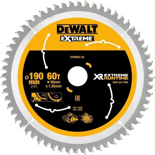Δίσκος ξύλου 190X30mmx60 δόντια XR Flexvolt Xtreme Runtime