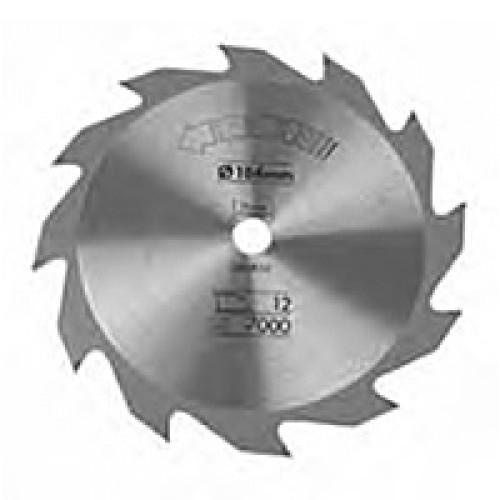 Δίσκος - wood - construction - 190mmx16x20 - δόντια