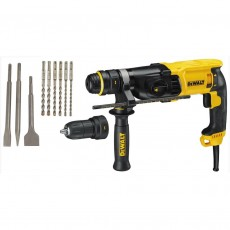 Sds Plus , 800W, 26mm Combination Hammer 3 speed 26mm + accessories