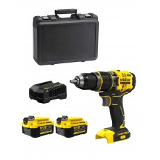 V20 Hammer Drill (2 x 4,0 AH + Charger + Carrying Case) 18V